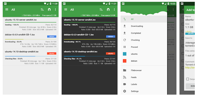 tTorrent Android Torrent Client